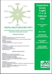 Formazione Recovery Star 17 e 18 febbraio 2020